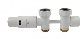 606100055 Zestaw Duo-plex Mini prosty 3/4 x M22x1,5 biały