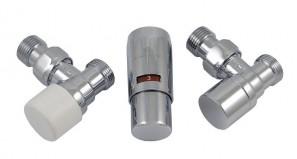 603400003 Zestaw termostatyczny Elegant Mini 1/2 x M22x1,5, kątowy, chrom
