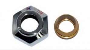Złączka zaciskowa do rury z miedzi 15X1 GW 3/4''  nikiel szlifowany