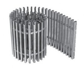 PMO 420/2300 Stal nierdzewna kratka poprzeczna lub podłużna