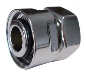 602700002.10 Złączka zaciskowa do rury stalowej GW M22x1,5 x GW 1/2 antyczny mosiądz