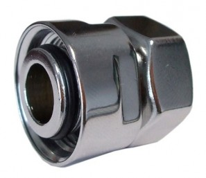 602700002.11 Złączka zaciskowa do rury stalowej GW M22x1,5 x GW 1/2 antyczna miedź