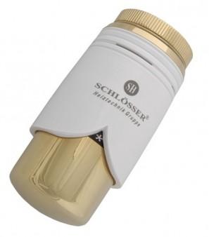 600200008 Głowica SH Brillant biała-złoto