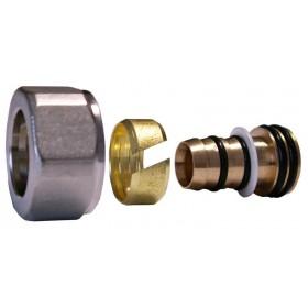 602600005 Złączka zaciskowa do rury z tworzywa sztucznego GW M22x1,5 - 16x2 biała