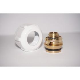 Złączka zaciskowa do rury z tworzywa sztucznego GW 3/4 Alu Pex 16x2 biała