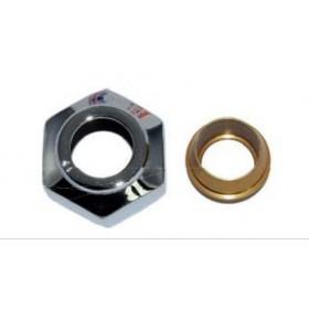 Złączka zaciskowa do rury z miedzi 15X1 GW 3/4''  czarna struktura