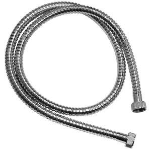Wąż natryskowy L-120cm z tworzywa w oplocie metalowym, W01