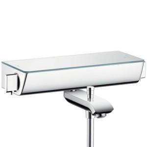Bateria prysznicowa termostatyczna HANSGROHE Ecostat Select biały/chrom, 13141400