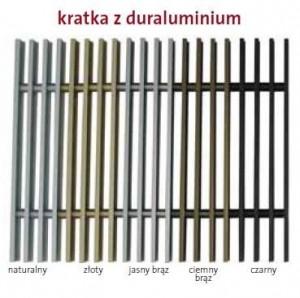 PMZ 180/1000 Duraluminium kratka poprzeczna lub podłużna