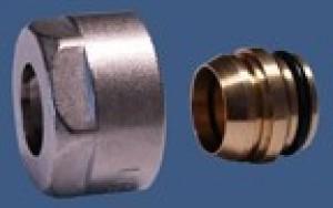 602500001 Złączka zaciskowa do rury z miedzi. GW 3/4 x 15mm