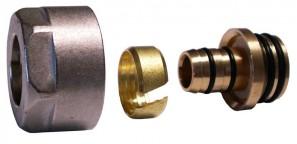 602600002 Złączka zaciskowa do rury z tworzywa sztucznego * GW 3/4 - 17x2