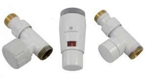 603400043 Zestaw termostatyczny Elegant Mini 1/2 x M22x1,5, prosty, biały