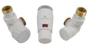 603400045 Zestaw termostatyczny Elegant Mini 1/2 x M22x1,5, osiowy, biały