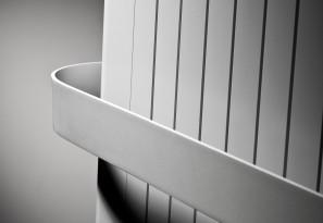 Poręcz aluminiowa do grzejników ALU ZEN i BRYCE PLUS 375mm 118324400000000