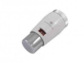 601100030 Głowica termostatyczna Mini M30x1,5 Biała-Chrom