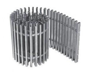 PMO 340/1000 dąb lakierowany kratka poprzeczna