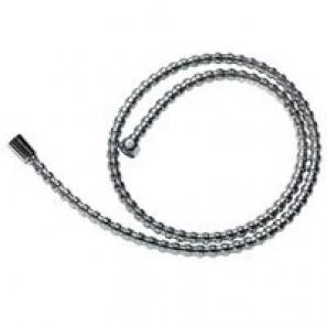 Wąż natryskowy L-150cm z nakrętką stożkową perełkowy, W80
