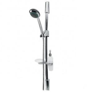 Natrysk przesuwny 5-funkcyjny z mydelniczką i pojemnikiem na mydło Emerald, N47