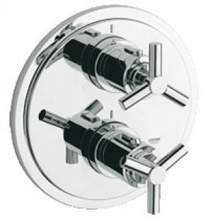 Bateria termostatyczna do obsługi więcej niż jednego wyjścia wody Atrio 19395 000
