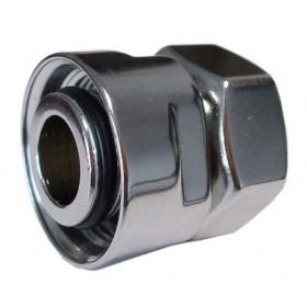 602700003 Złączka zaciskowa do rury stalowej GW M22x1,5 x GW 1/2 chrom