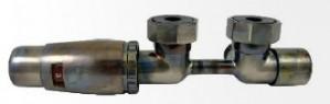 606100090 Zestaw DUO-PLEX MINI 3/4xM22x1,5 prawy M30x1,5 + nyple- TECHNOLINE