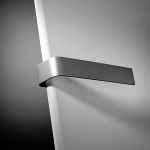 Poręcz na ręczniki aluminiowa do grzejników NIVA SOFT N2L1 326mm 118324000000000