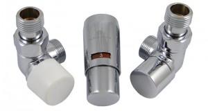603400017 Zestaw termostatyczny Elegant Mini 1/2 x M22x1,5, osiowy, chrom