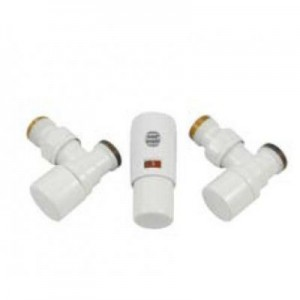 603400001 Z9 Zestaw Łazienkowy Kątowy Mini Biały PEX